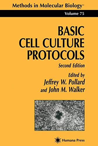 9780896034419: Basic Cell Culture Protocols (Methods in Molecular Biology)