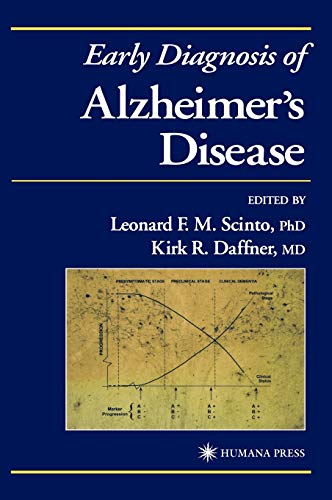 9780896034525: Early Diagnosis of Alzheimer's Disease (Current Clinical Neurology)