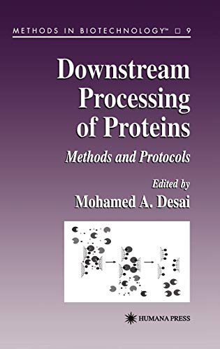 9780896035645: Downstream Processing of Proteins: Methods and Protocols (Methods in Biotechnology)