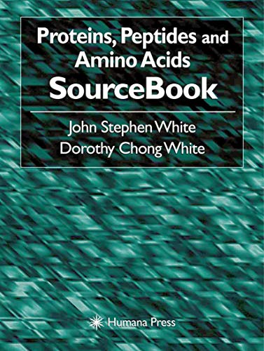 9780896036130: Proteins, Peptides and Amino Acids SourceBook