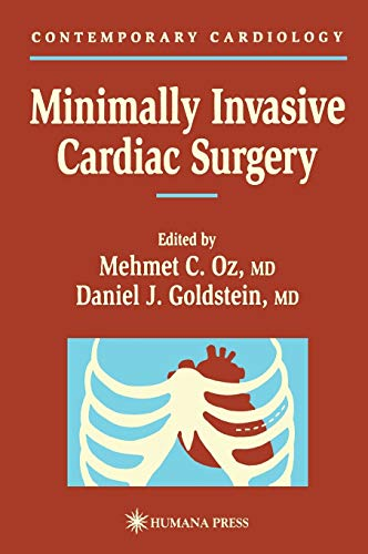 9780896036352: Minimally Invasive Cardiac Surgery (Contemporary Cardiology)