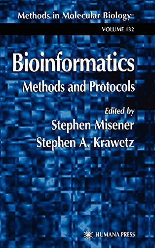 9780896037328: Bioinformatics Methods and Protocols (Methods in Molecular Biology)