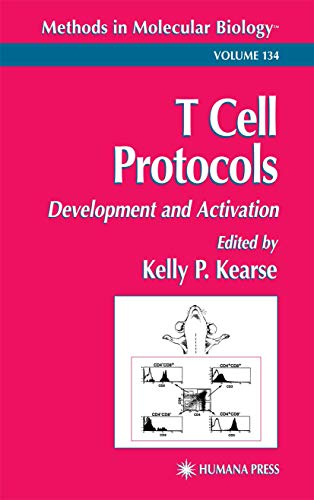9780896038103: T Cell Protocols: Development and Activation (Methods in Molecular Biology)