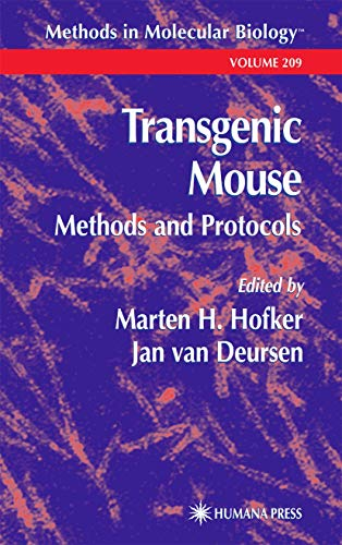 9780896039155: Transgenic Mouse: Methods and Protocols (Methods in Molecular Biology, Vol. 209)