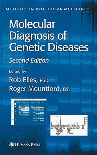 9780896039322: Molecular Diagnosis of Genetic Diseases (Methods in Molecular Medicine) (v. 1)