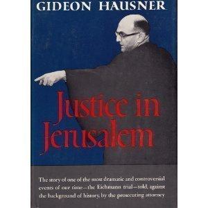 9780896040038: Justice in Jerusalem