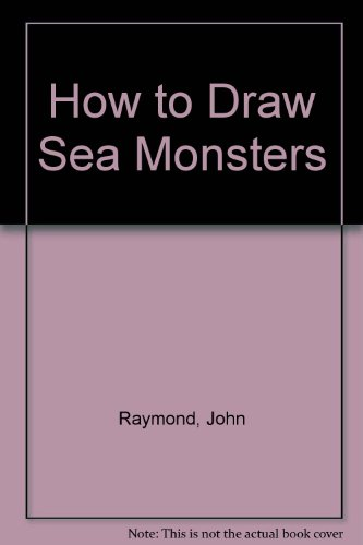 9780896070035: How to Draw Sea Monsters