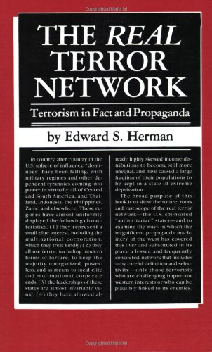 9780896081345: The Real Terror Network: Terrorism in Fact and Propaganda