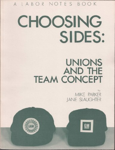 9780896083479: Choosing Sides: Unions and the Team Concept