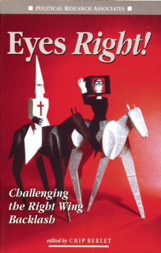 Eyes Right! : Challenging the Right Wing Backlash