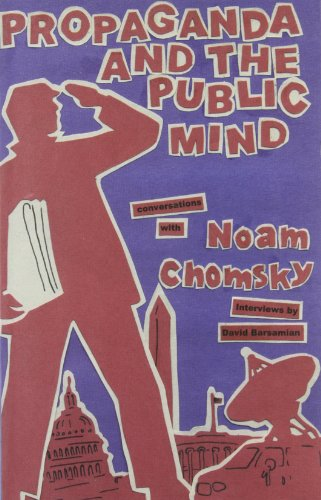 9780896086340: Propaganda and the Public Mind: Conversations with Noam Chomsky