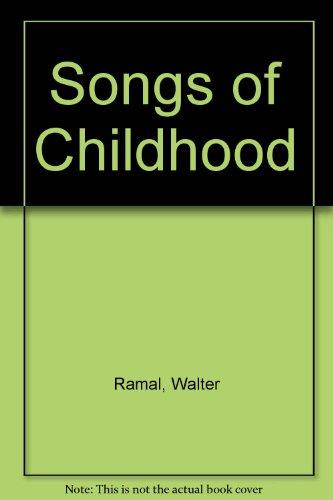9780896092570: Songs of Childhood