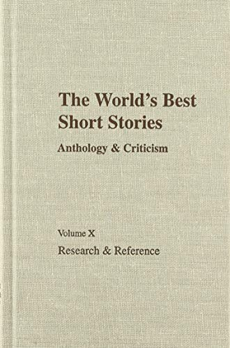 Worlds Best Short Stories: Research and Reference: Inc Staff Roth