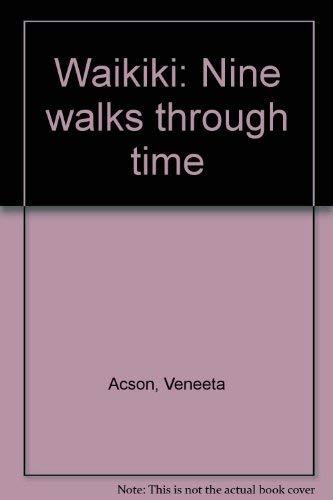 9780896100893: Waikiki: Nine walks through time