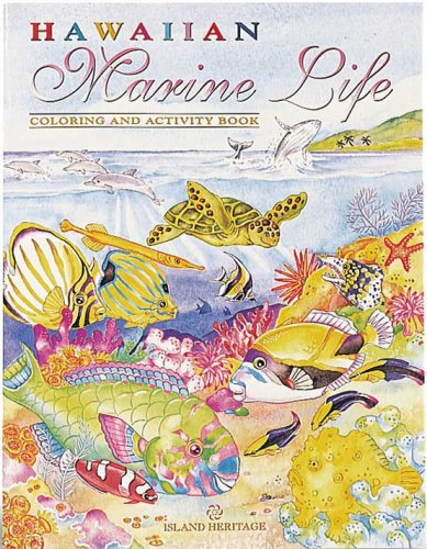 9780896103177: Hawaiian Marine Life Coloring & Activity Book