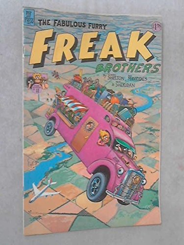 9780896200357: The Fabulous Furry Freak Brothers The Bus Line and Other Tales (Freak Brothers #11)