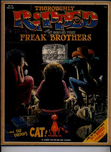 Thoroughly ripped with the fabulous Furry Freak: Gilbert Shelton