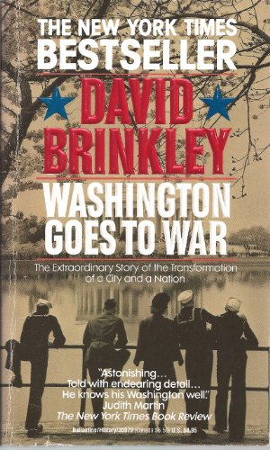 9780896212275: Washington Goes to War
