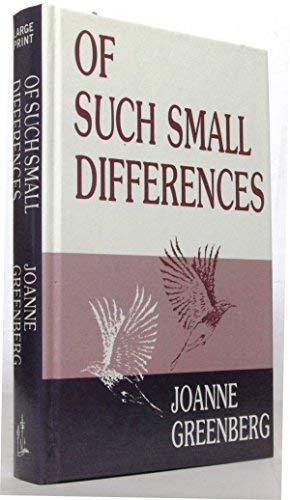 9780896212336: Of Such Small Differences (Thorndike Press Large Print Basic Series)