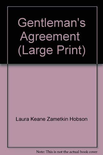 Gentleman's Agreement: Hobson, Laura Z