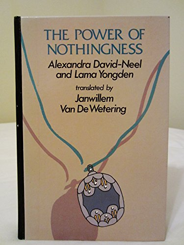 9780896213821: The power of nothingness