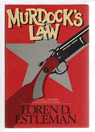 9780896215405: Title: Murdocks Law Page Murdock US Deputy Marshall Book