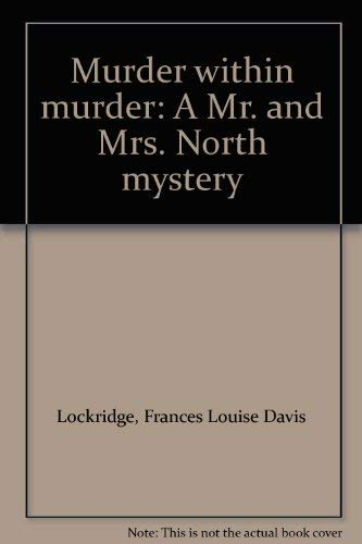 9780896215870 Murder Within Murder A Mr And Mrs North Mystery