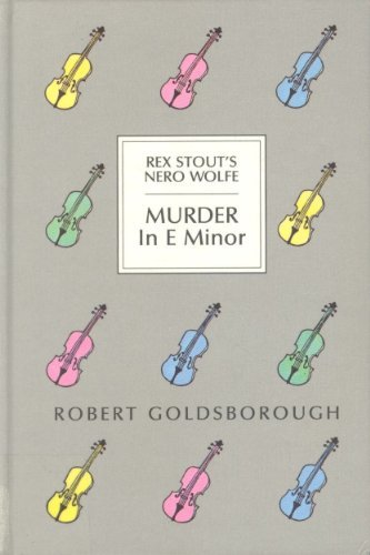 9780896217348: Murder in E Minor: A Nero Wolfe Mystery (Thorndike Press Large Print Basic Series)