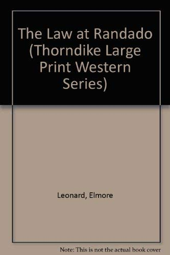 9780896217386: The Law at Randado (Thorndike Press Large Print Western Series)