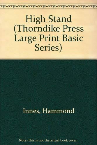 9780896217508: High Stand (Thorndike Press Large Print Basic Series)