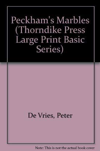 9780896217799: Peckham's Marbles (Thorndike Press Large Print Basic Series)