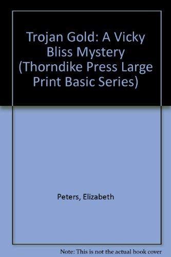 9780896218185: Trojan Gold: A Vicky Bliss Mystery