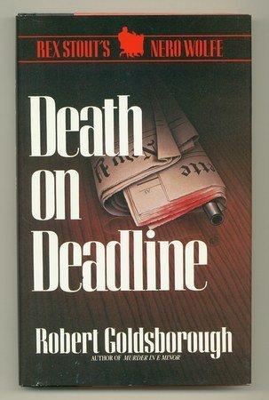 9780896218383: Death on Deadline: A Nero Wolfe Mystery (Thorndike Press Large Print Basic Series)