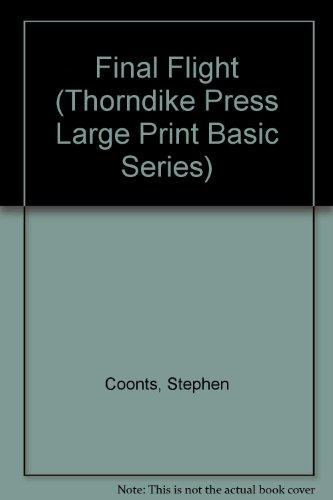 9780896218635: Final Flight (Thorndike Press Large Print Basic Series)