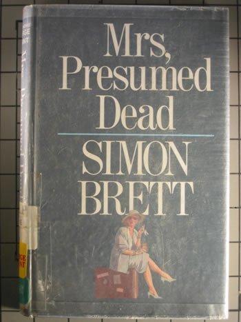 9780896218826: Mrs, Presumed Dead (Thorndike Press Large Print Basic Series)