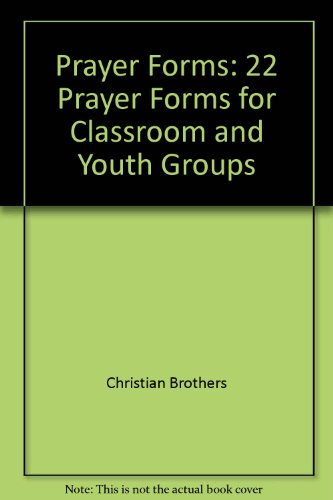 9780896223301: Prayer Forms: 22 Prayer Forms for Classroom and Youth Groups