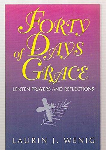 9780896226654: 40 Days of Grace: Lenten Prayers & Reflections