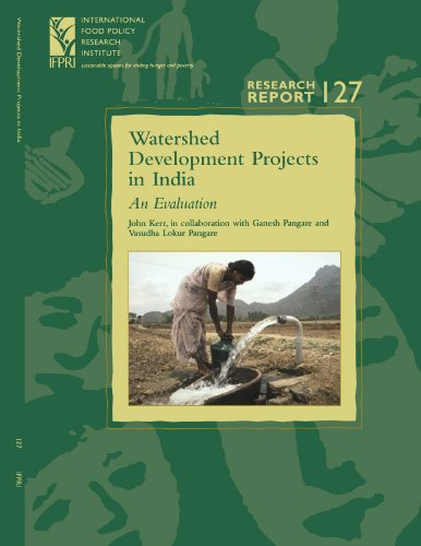 9780896291294: Watershed Development Projects in India: An Evaluation (Research Report 127 - International Food Policy Research Institute - IFPRI) (Research Report ... Food Policy Research Institute), 126,)