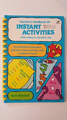 9780896360327: Teachers Handbook of Instant Activities