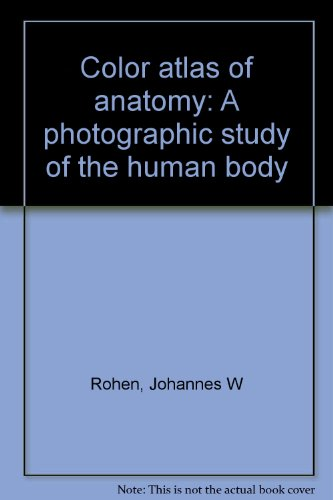 9780896400771: Color atlas of anatomy: A photographic study of the human body