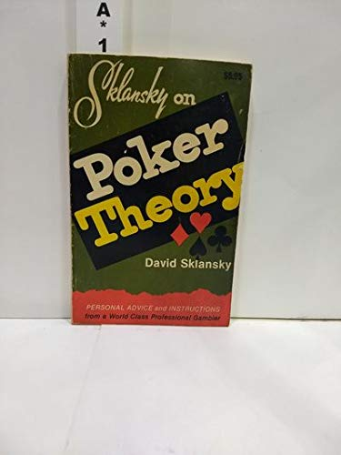 Sklansky on poker theory (0896509184) by David Sklansky