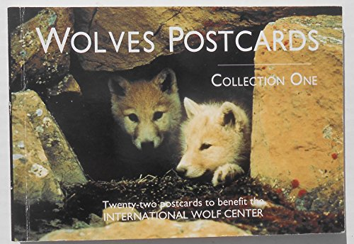 9780896581258: Wolves Postcard Collection