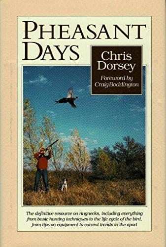 9780896581708: Pheasant Days