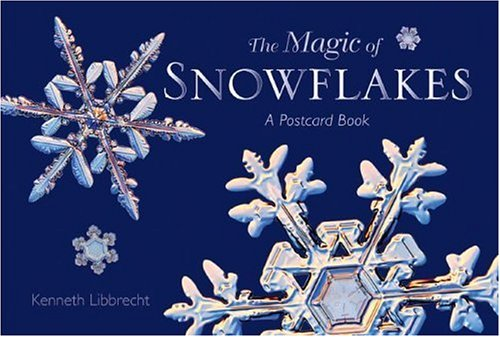9780896587243: The Magic of Snowflakes: A Postcard Book