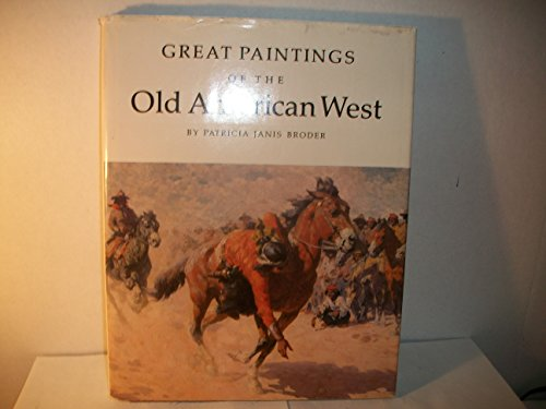 9780896590687: Great Paintings of the Old American West