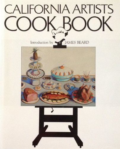 California Artists Cookbook (SIGNED by Mark Adams)