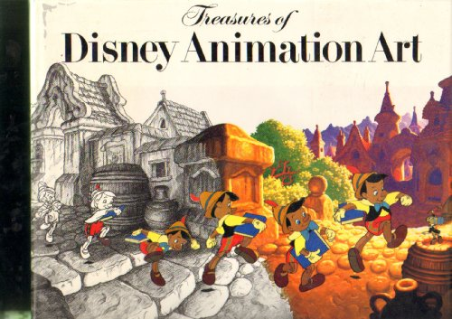 9780896595811: Treasures of Disney Animation Art