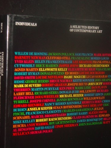 Individuals: A Selected History of Contemporary Art, 1945-1986