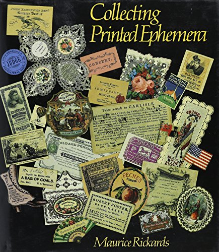 9780896598935: COLLECTING PRINTED EPHEMERA GEB