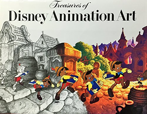 9780896600317: Treasures of Disney Animation Art